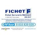 CARTE DE PROPRI�T� FICHET