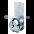 Barillet pour meuble métallique - court - 1/2 tour sans batteus
