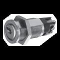 Contacteur à clé Kaba 9212 - Diamètre. 19mm