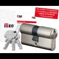 Cylindre européen Iseo CSF F90 à 2 entrées