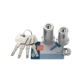 Jeu de cylindres Bricard Chifral S2 rond à bouton - 67 mm