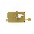 Sérrure JPM VEGA 1 pt horizontale à tirage Gauche clés plates