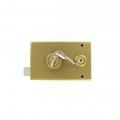 Sérrure JPM VEGA 1pt horizontale à fouillot Gauche clés plate