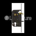 Serrure Vachette D40 - à mentonnet pour grilles articulées