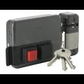 Serrure électrique Iseo City 5G porte peine à bouton DROITE