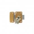 Vérrou city ISEO R6 à bouton clés spéciales - 45mm