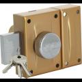 Verrou de sûreté 1 point KVR 30 à bouton